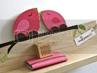 Mama and Child Bird Shelf - Hot PInk-eco-friendly by Maple Shade Kids