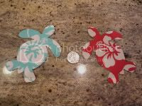 ::Inspired By Green:: &lt;br&gt;Sea Turtles Iron On Applique&lt;br&gt;FFS for Facebook Fans