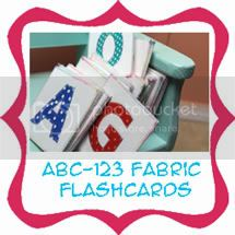 fabric flashcards