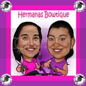 Hermanas Bowtique Button
